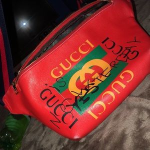 Red Gucci Bag